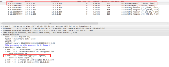 Comware7 Radius based RBAC user-role assignment | About Aruba Networks