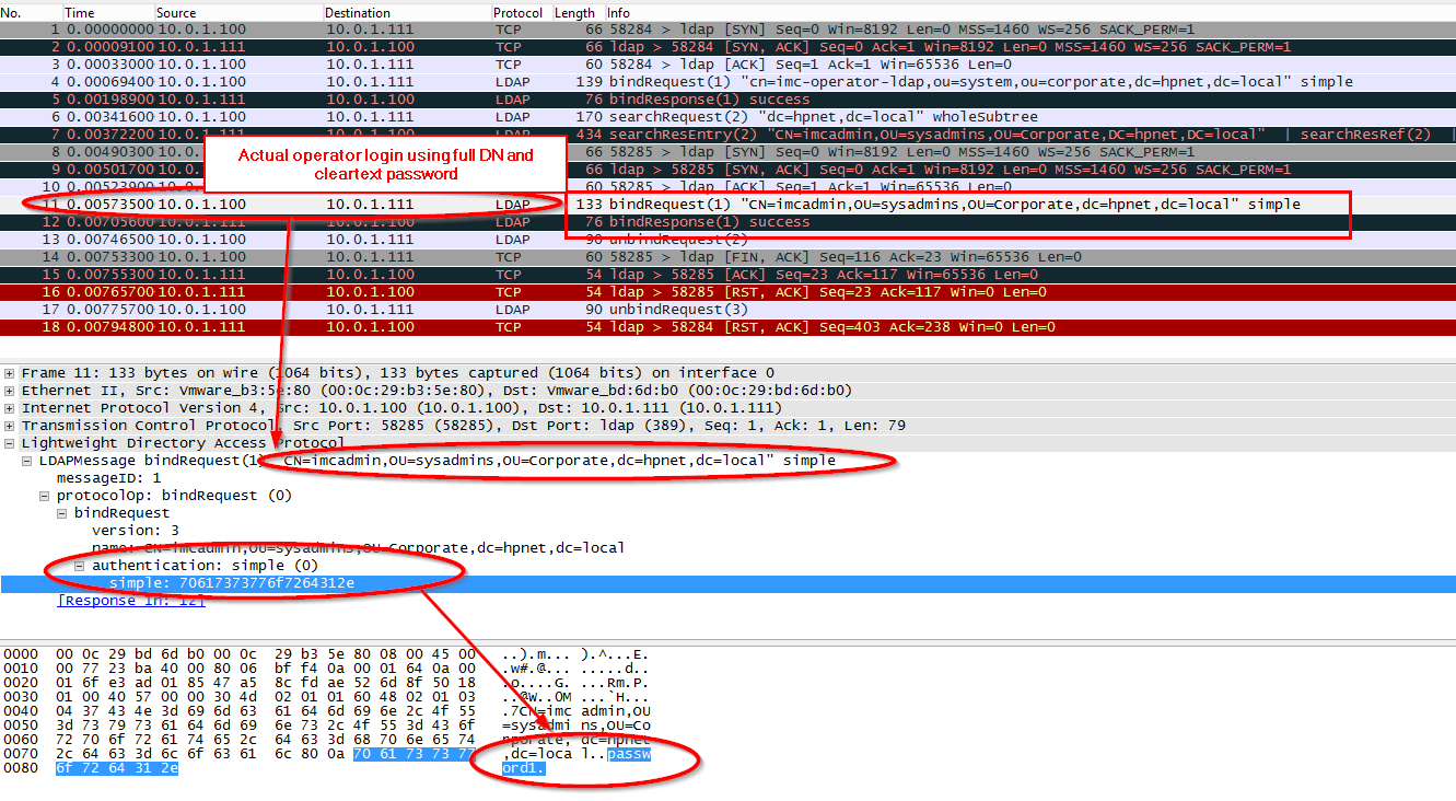 IMC Operator authentication with LDAP over SSL | About Aruba