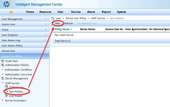 HP IMC TACACS Authentication Manager – AD/LDAP link | About